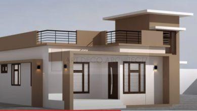 Photo of 3 Bedroom Single Floor Modern House and Free Plan, Budget 10 Lacks