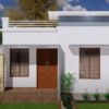 510 Sq Ft 2BHK Modern Single Floor House and Free Plan, 8 Lacks