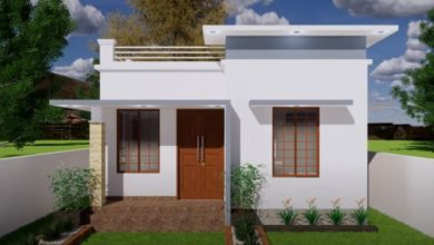 Photo of 510 Sq Ft 2BHK Modern Single Floor House and Free Plan, 8 Lacks