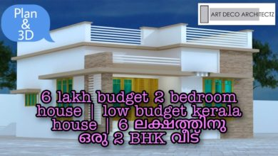 Photo of 600 Sq Ft 2BHK Modern and Single Floor House and Free Plan, 6 Lacks