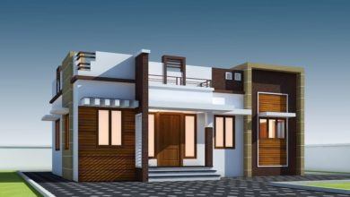 Photo of 696 Sq Ft 2BHK Single Floor Modern House and Free Plan