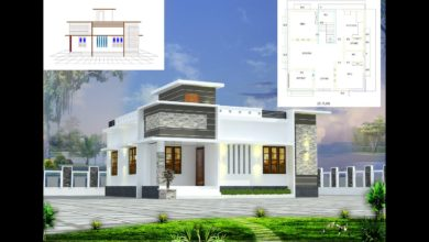 Photo of 700 Sq Ft 2BHK Contemporary Style Single-Storey House and Free Plan, 9 Lacks