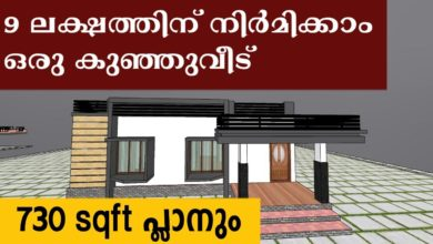 Photo of 730 Sq Ft 2BHK Single Floor Modern House and Free Plan, 9 Lacks