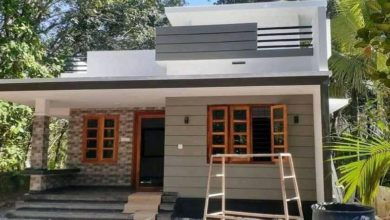 Photo of 750 Sq Ft 2BHK Modern and Single Floor House and Free Plan