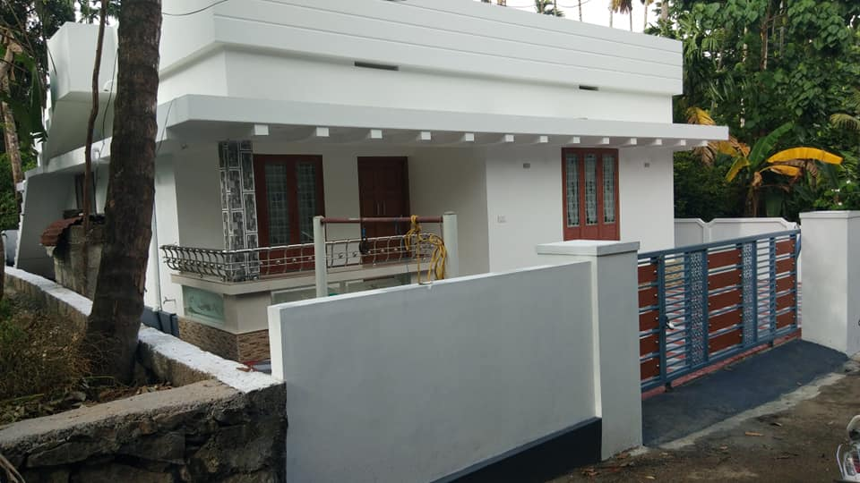 750 Sq Ft 2BHK Single-Storey Budget House and Free Plan