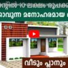 790 Sq Ft 2BHK Modern Single Floor House and Free Plan, 10 Lacks