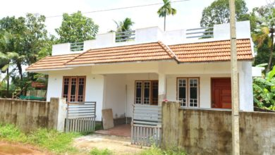 Photo of 850 Sq Ft 2BHK Traditional Style Single Floor House at 3 Cent Plot