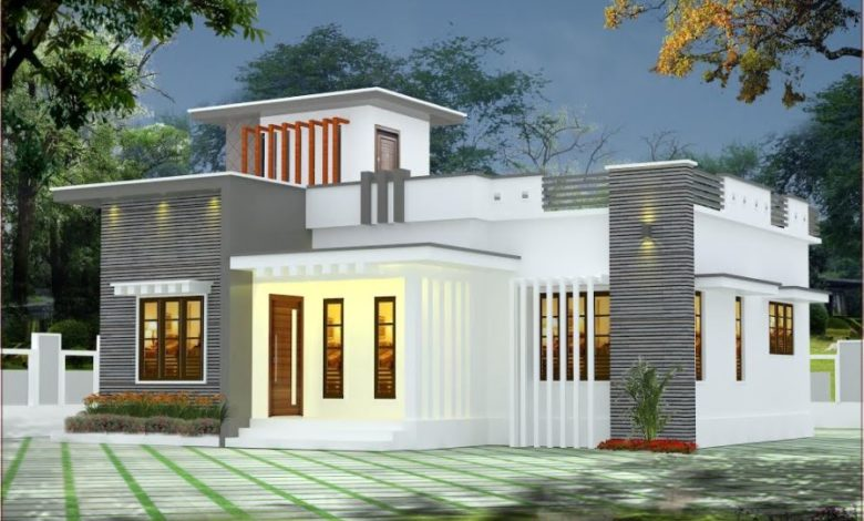 900 Sq Ft 2BHK Single Floor Low Budget House and Free Plan
