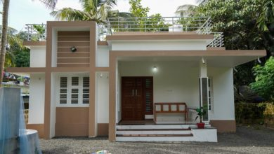 Photo of 950 Sq Ft 2BHK Modern Single Floor House and Free Plan
