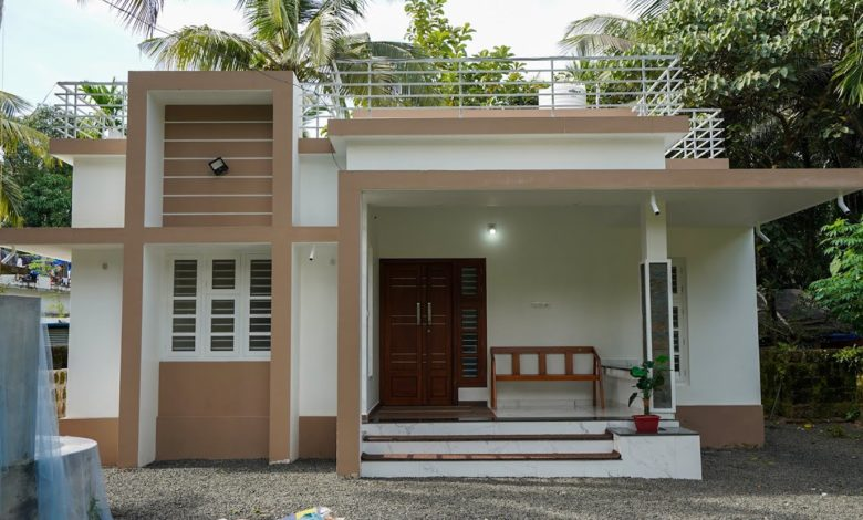 950 Sq Ft 2BHK Modern Single Floor House and Free Plan