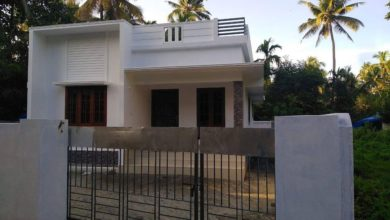 Photo of 950 Sq Ft 2BHK Simple Modern Single Floor House and Free Plan