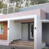 1000 Sq Ft 2BHK Contemporary Style Single Floor House and Free Plan, 10 Lacks