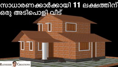 Photo of 1077 Sq Ft 2BHK Traditional Style Two-Floor House and Free Plan, 11 Lacks