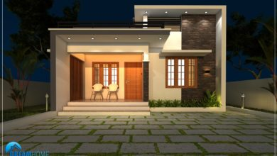 Photo of 1080 Sq Ft 2BHK Modern Single Floor House and Free Plan, 18.5 Lacks
