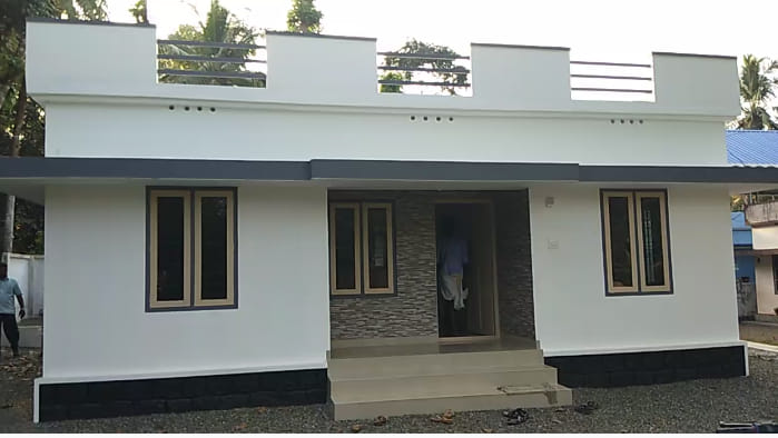 1084 Sq Ft 3BHK Simple Single Floor House and Free Plan