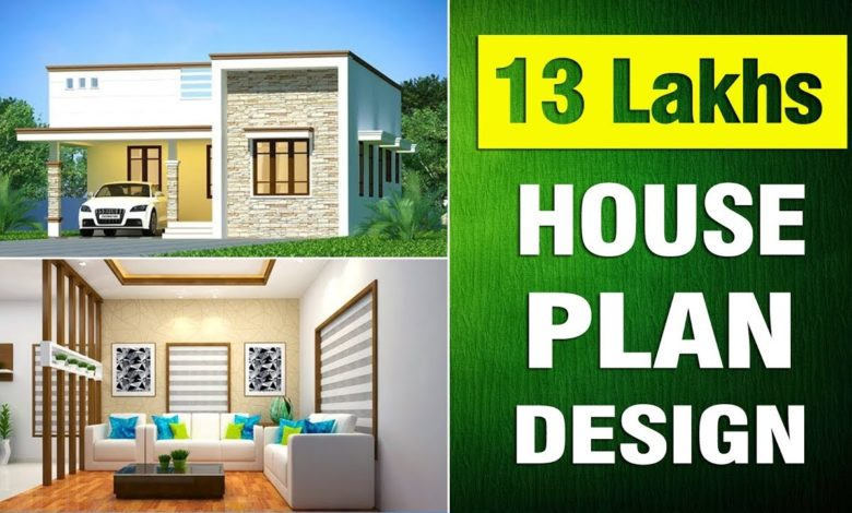 1169 Sq Ft 2BHK Beautiful Single Floor House and Free Plan, 13 Lacks