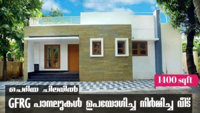 Photo of 1400 Sq Ft 3BHK Single Floor GFRG Panel Low Budget House.