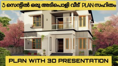 Photo of 2000 Sq Ft 4BHK Double Floor Modern House and Free Plan
