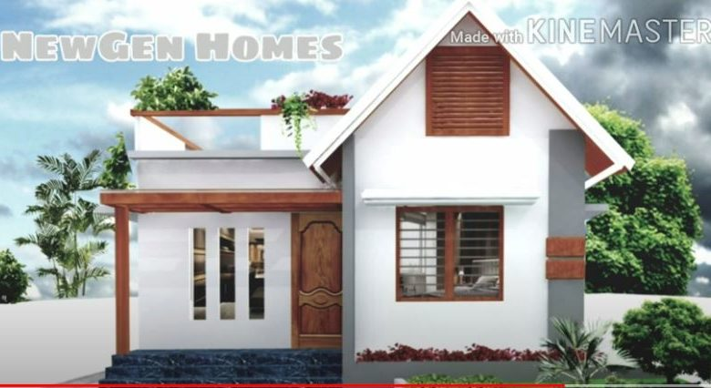450 Sq Ft 2BHK Modern Single Floor House and Free Plan, 6.3 Lacks