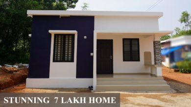 Photo of 500 Sq Ft 2BHK Modern Low Budget Single Floor House, 7 Lacks