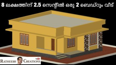 Photo of 669 Sq Ft 2BHK Beautiful Single Floor House and Free Plan, 8 Lacks