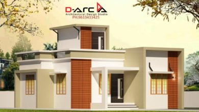 Photo of 720 Sq Ft 2BHK Contemporary Style Single-Storey House and Free Plan, 10 Lacks