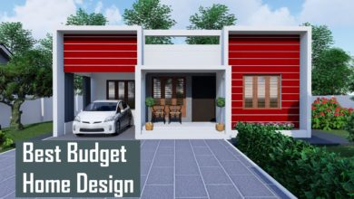 Photo of 800 Sq Ft 2BHK Box Style Single Floor House and Free Plan