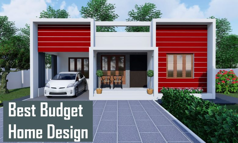 800 Sq Ft 2BHK Box Style Single Floor House and Free Plan
