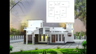 Photo of 900 Sq Ft 2BHK Contemporary Style Single Floor House and Free Plan, 12 Lacks