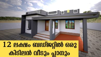 Photo of 980 Sq Ft 3BHK Modern Single Floor House and Free Plan, 12 Lacks