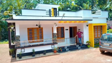 Photo of 1100 Sq Ft 3BHK Modern Single Floor House and Free Plan, 15 Lacks