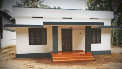 Photo of 1000 Sq Ft 3BHK Simple and Beautiful Low Budget House and Free Plan