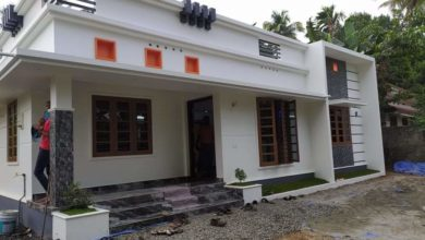 Photo of 1174 Sq Ft 3BHK Modern Single Floor Beautiful House and Free Plan