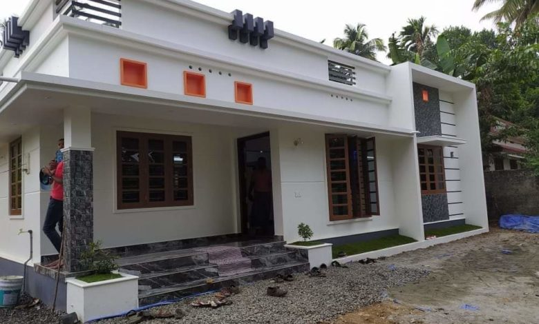 1174 Sq Ft 3BHK Modern Single Floor Beautiful House and Free Plan
