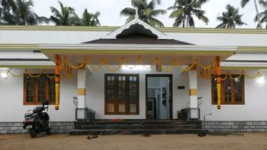 Photo of 1250 SqFt 3BHK Traditional Style Single Floor House and Free Plan