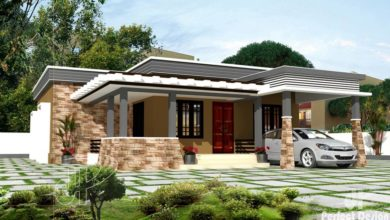 Photo of 1257 Sq Ft 3BHK Modern Single Floor House and Free Plan