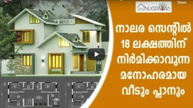 Photo of 1400 Sq Ft 3BHK Colonial Style Two-Storey House and Free Plan, 18 Lacks