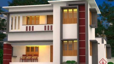 Photo of 1453 Sq Ft 4BHK Flat Roof Two-Storey House and Free Plan