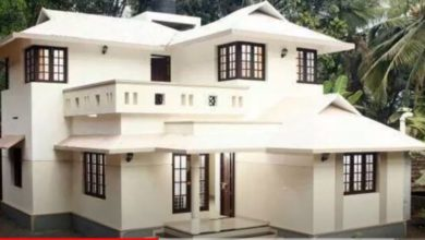Photo of 1500 Sq Ft 3BHK Traditional Style Two-Storey House and Free Plan