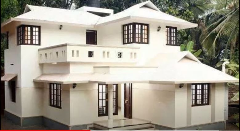 1500 Sq Ft 3BHK Traditional Style Two-Storey House and Free Plan