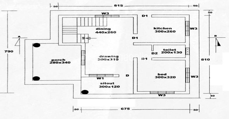1BHK Modern House at 4.5 Cent Plot, Free Plan, 8 Lacks
