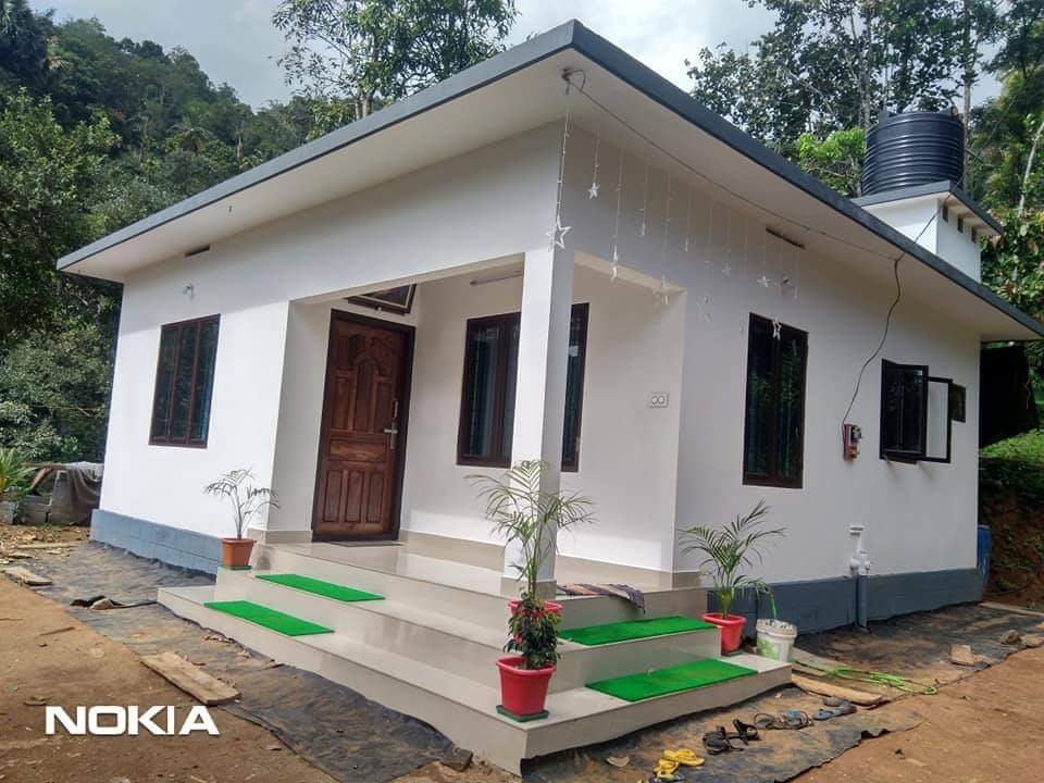 520 Sq Ft 2BHK Modern Low Budget Single Floor House and Free Plan