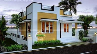 Photo of 543 Sq Ft 2BHK Modern Single Floor House and Free Plan