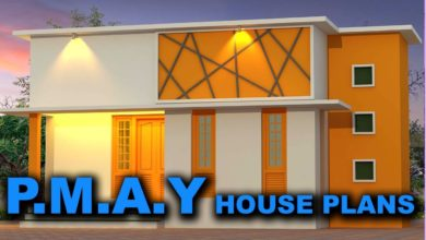 Photo of 619 Sq Ft 2BHK Modern Single Floor House and Free Plan, 9 Lacks