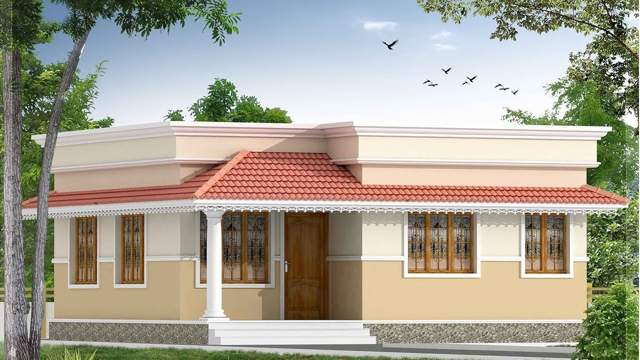 700 Sq Ft 2BHK Traditional Style Single Floor House and Free Plan