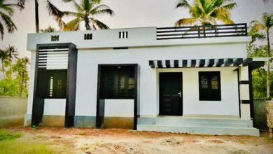 Photo of 725 Sq Ft 2BHK Modern Single-Storey Low Budget House and Free Plan