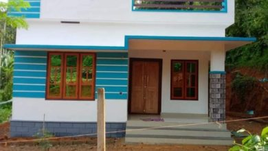 Photo of 725 Sq Ft 2BHK Simple and Beautiful House and Free Plan