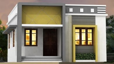 Photo of 750 Sq Ft 2BHK Modern Single Floor House and Free Plan