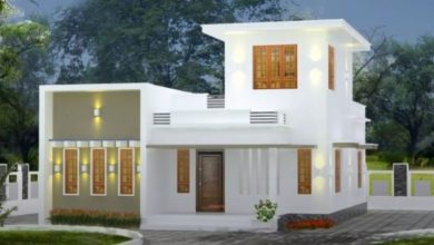 Photo of 750  Sq Ft 2BHK Modern Single-Storey House and Free Plan