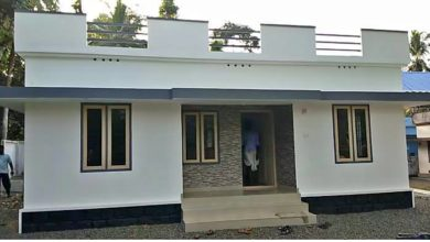 Photo of 829 Sq Ft 3BHK Simple and Beautiful Single Floor House and Free Plan